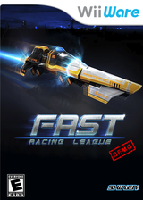 Fast Racing League Demo WiiWare cover (XIJE)
