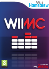 WiiMC Homebrew cover (WIMC)