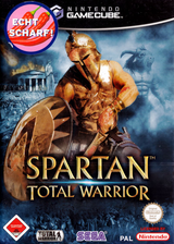 Spartan Total Warrior GameCube cover (GWAD8P)