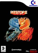 Pitstop II VC-C64 cover (C9MP)