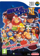 Magical Drop 3 VC-NEOGEO cover (EBDP)
