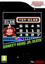 Donkey Kong Jr. Math VC-NES cover (FA6P)