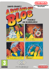 A Boy and His Blob: Trouble on Blobolonia VC-NES cover (FFEP)