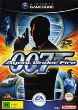 James Bond 007 in Agent Under Fire GameCube cover (GW7P69)