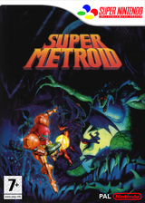 Super Metroid VC-SNES cover (JAVP)