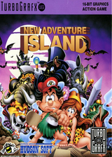 New Adventure Island VC-PCE cover (PAIP)