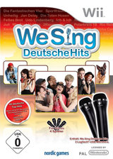 We Sing: Deutsche Hits Wii cover (SITPNG)