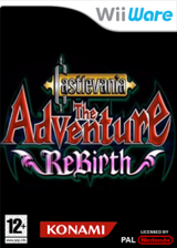Castlevania: The Adventure ReBirth WiiWare cover (WD9P)