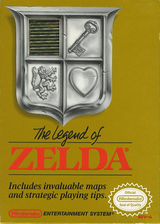 The Legend of Zelda VC-NES cover (FAKE)