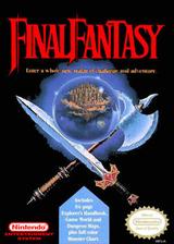 Final Fantasy VC-NES cover (FFAE)