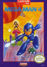 Mega Man 4 VC-NES cover (FFNE)