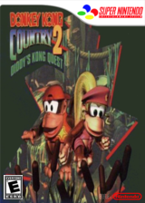 Donkey Kong Country 2: Diddy's Kong Quest VC-SNES cover (JBDE)