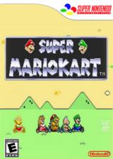 Super Mario Kart VC-SNES cover (JCWE)