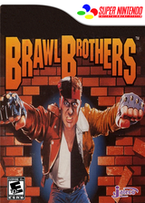 Brawl Brothers VC-SNES cover (JD5E)
