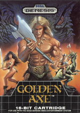Golden Axe VC-MD cover (MAEE)