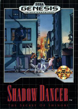 Shadow Dancer: The Secret of Shinobi VC-MD cover (MAKE)