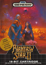 Phantasy Star II VC-MD cover (MB8E)