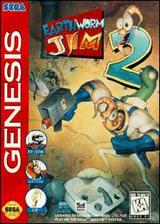 Earthworm Jim 2 VC-MD cover (MC2E)