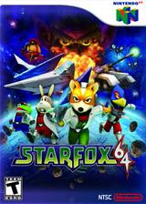 Star Fox 64 VC-N64 cover (NADE)
