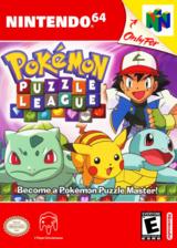 Pokémon Puzzle League VC-N64 cover (NANE)