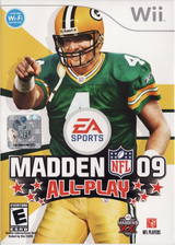 Madden NFL 09 All-Play Wii cover (RFLE69)