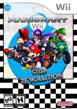 Mario Kart Wii CTGP Revolution CUSTOM cover (RMCEG2)