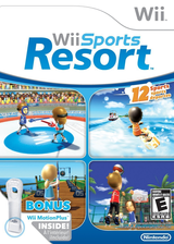Wii Sports Resort Wii cover (RZTE01)