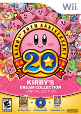 Kirby's Dream Collection: Special Edition Wii cover (S72E01)