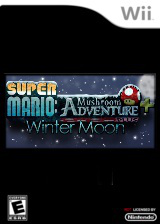 Super Mario: Mushroom Adventure PLUS - Winter Moon CUSTOM cover (SMME02)
