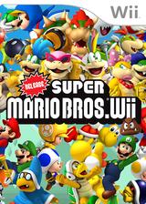 Release Super Mario Bros. Wii CUSTOM cover (SMNEZV)