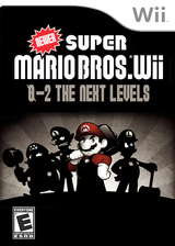 New Super Mario Bros. Wii 0-2 Next Generation Levels CUSTOM cover (SNLE01)
