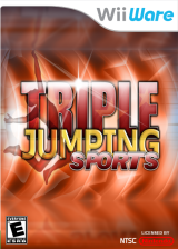Triple Jumping Sports WiiWare cover (W3JE)