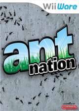 Ant Nation WiiWare cover (WANE)