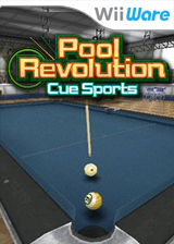 CueSports: Pool Revolution WiiWare cover (WCSE)
