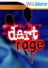 Dart Rage WiiWare cover (WDKE)