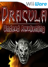 Dracula: Undead Awakening WiiWare cover (WIDE)