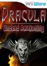 Dracula: Undead Awakening WiiWare cover (WIDE)