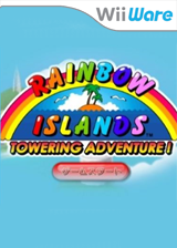 Rainbow Islands: Towering Adventure! WiiWare cover (WRIE)