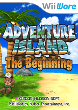 Adventure Island: The Beginning WiiWare cover (WTME)