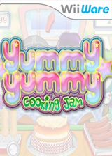 Yummy Yummy Cooking Jam WiiWare cover (WYME)
