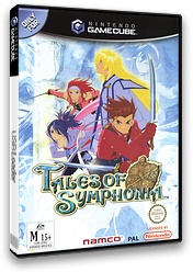 Tales of Symphonia GameCube cover (GQSPAF)