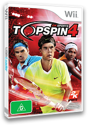 Top Spin 4 Wii cover (R28P54)