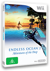 Endless Ocean 2: Adventures of the Deep Wii cover (R4EP01)