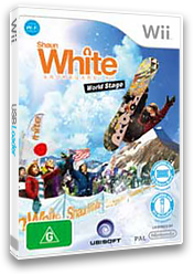 Shaun White Snowboarding: World Stage Wii cover (R6NY41)