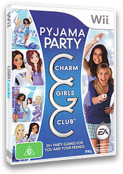 Charm Girls Club: Pyjama Party Wii cover (R7IP69)