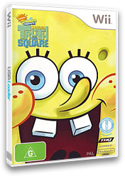 SpongeBob's Truth or Square Wii cover (R8IP78)