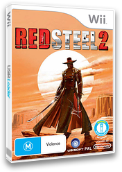 Red Steel 2 Wii cover (RD2X41)