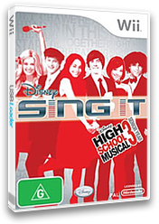 Disney Sing It: High School Musical 3 Wii cover (REYP4Q)