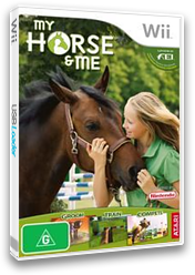 My Horse & Me Wii cover (RHNP70)
