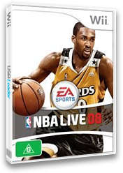 NBA Live 08 Wii cover (RNBP69)